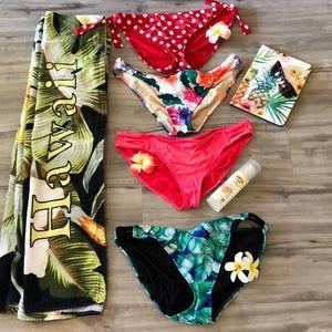 Lot of 4 Bikini 👙 Bottoms xl 🏖